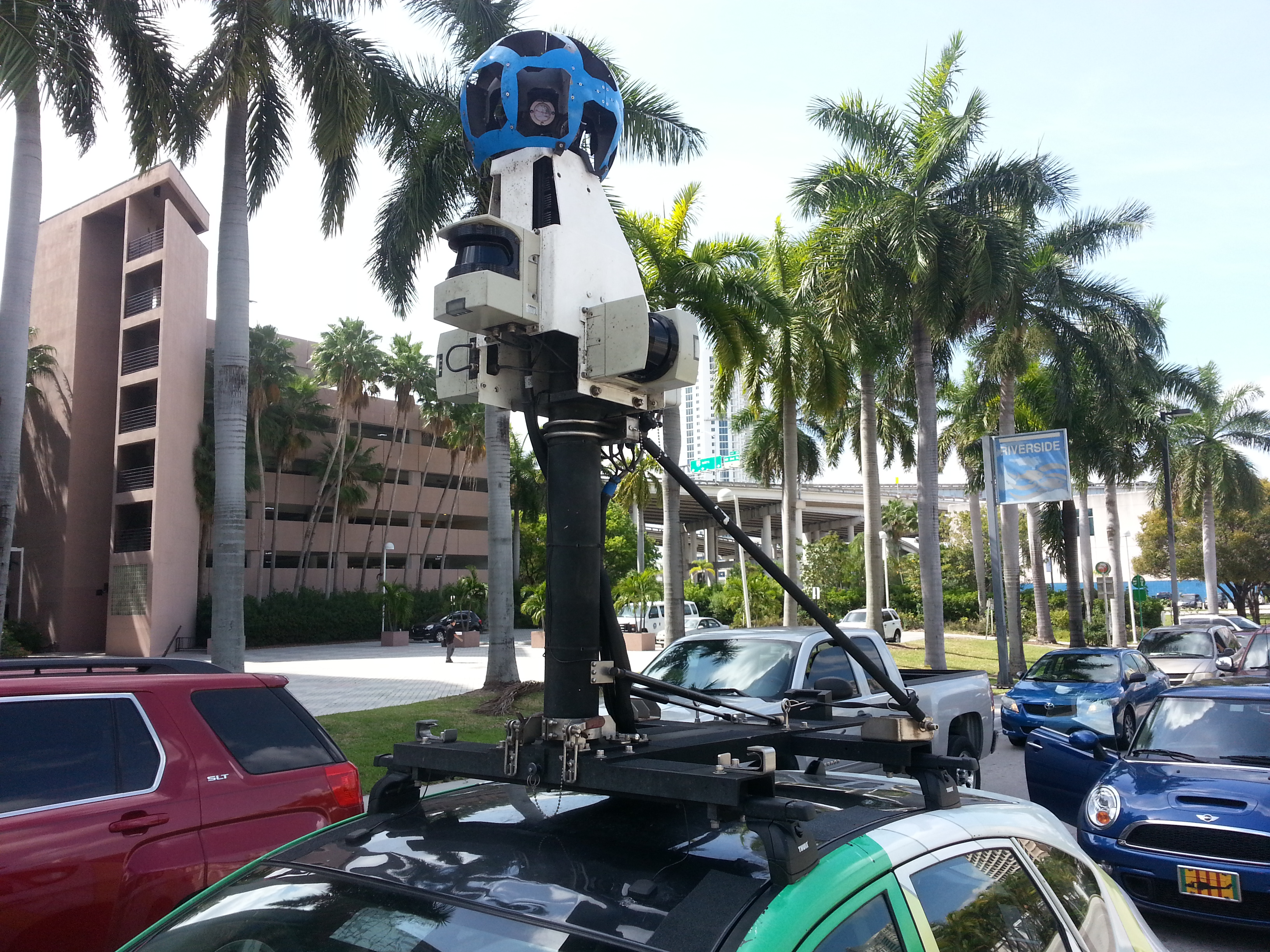 Google Maps Car in Downtown Miami | Miami Geographic