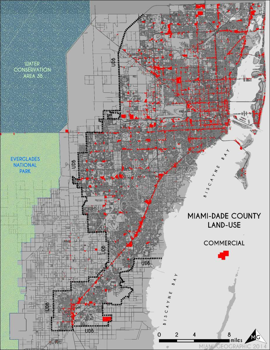 land use in miami-dade county | miami geographic