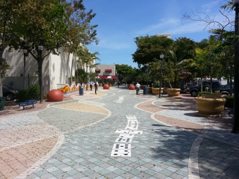 Miami Geo Quiz #8: Domino Walkway. Source: Matthew Toro. April 21, 2014.