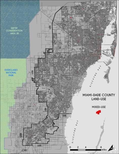 'Mixed' Land-Use in Miami-Dade. Source: Matthew Toro. 2014.