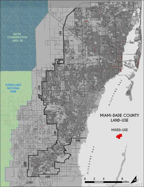 'Mixed' Land-Use in Miami-Dade. Source: Matthew Toro. 2014.