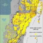 Residential Land-Use in Miami-Dade. Source: Matthew Toro. 2014.