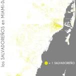 Los salvadoreños en Miami-Dade. Data Source: 2010 Decennial Census. Map Source: Matthew Toro. 2014.