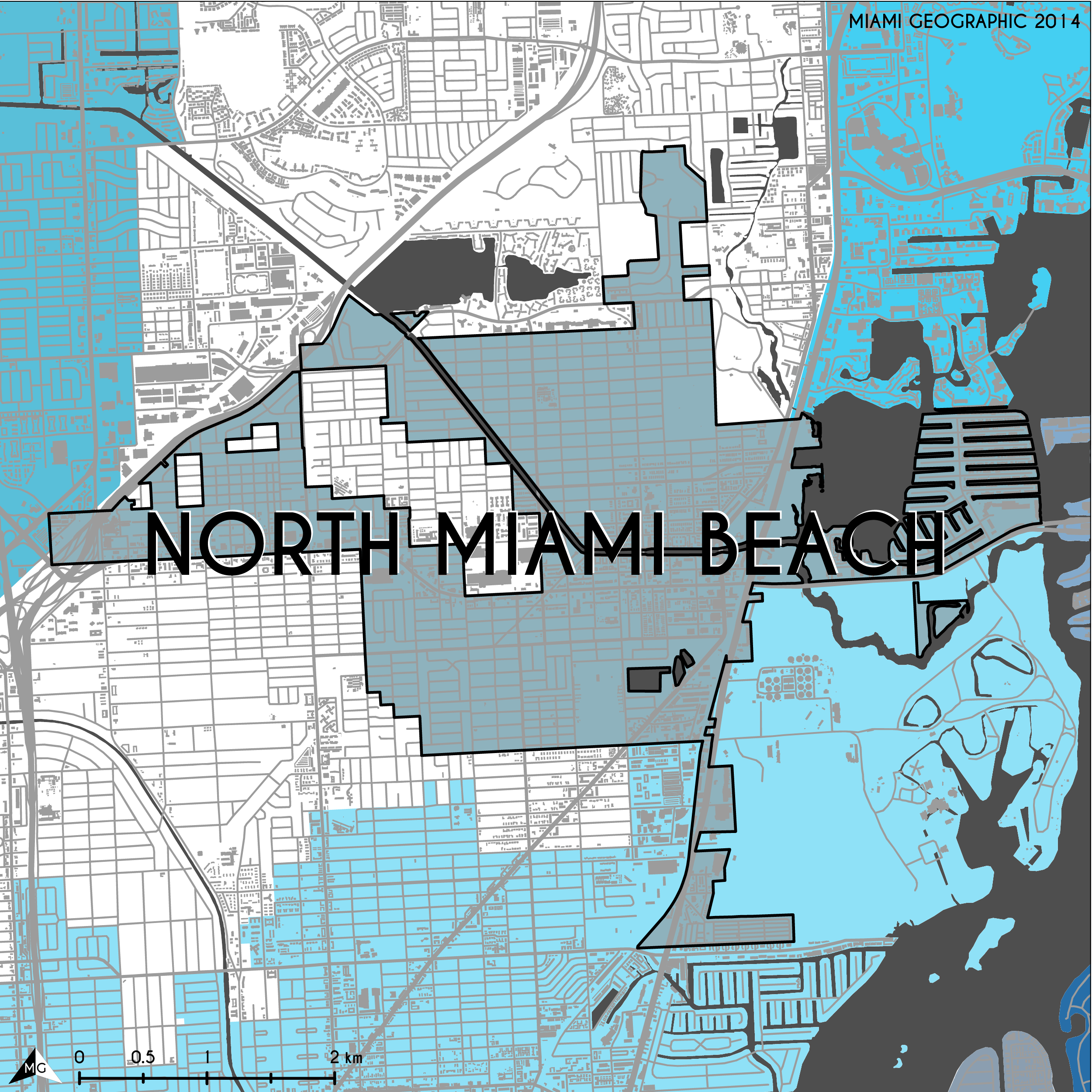 Breaking Geographical Stereotypes Start with a Map Miami