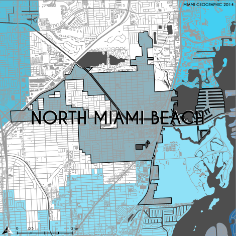 City of North Miami Beach, 2014. Source: Matthew Toro. 2014.