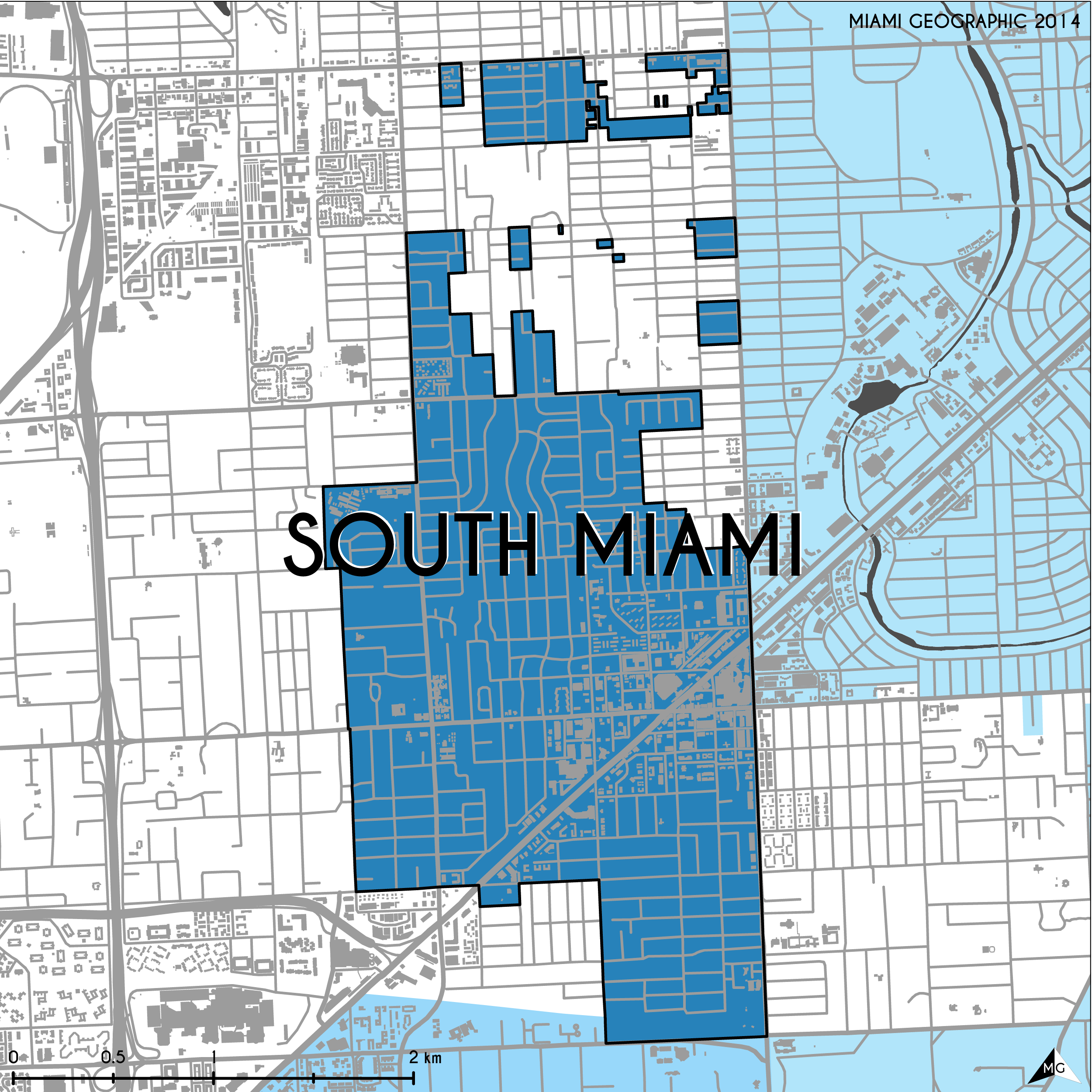 maps: municipalities of miami-dade county | miami geographic