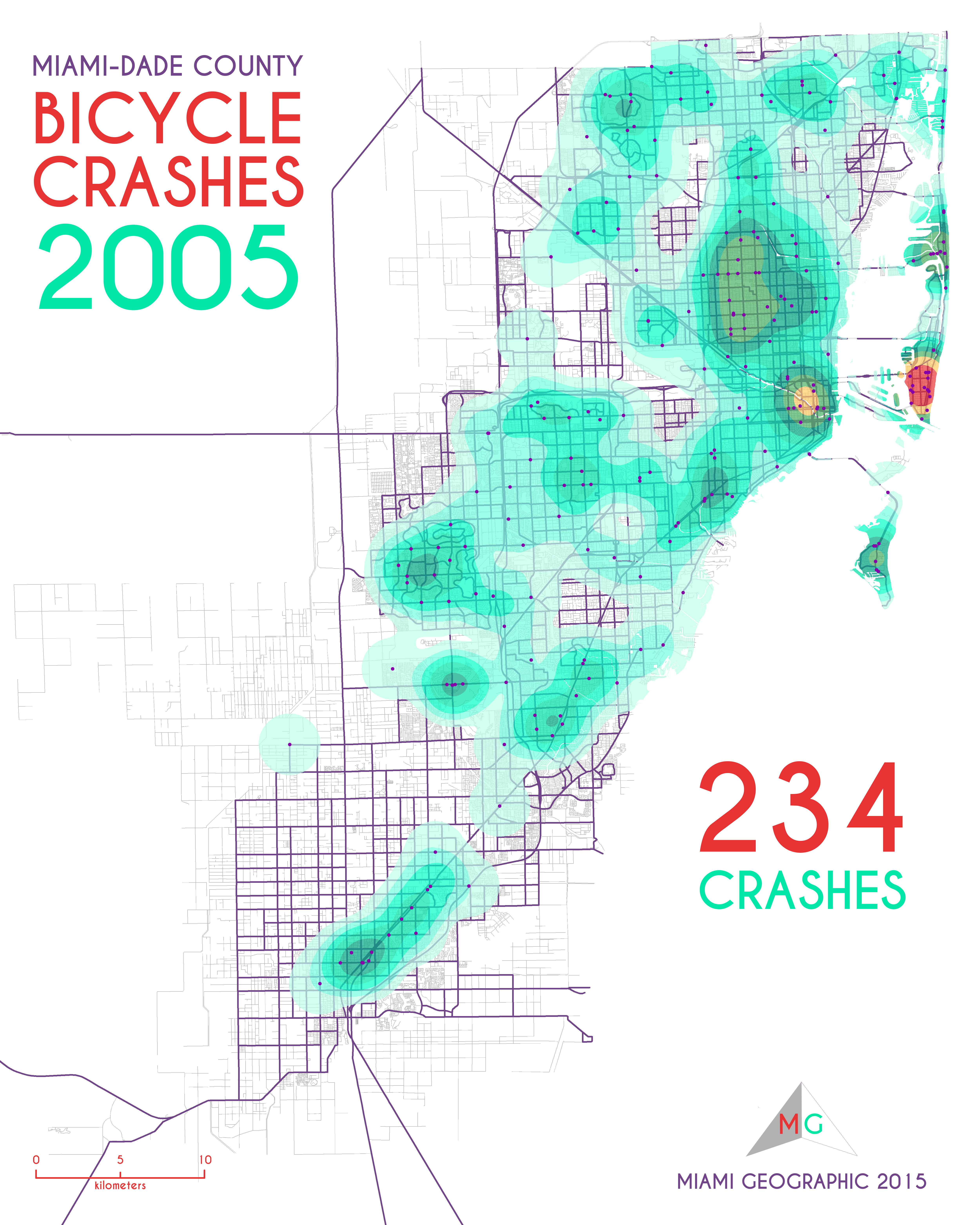 Bicycle Crashes in Miami-Dade County, 2005-2013 | Miami ... on saint johns county road map, knox county road map, weston county road map, davie road map, escambia county road map, miami-dade county gis map, saint lucie county road map, st. petersburg road map, miami-dade municipalities map, dade county city map, contra costa county road map, sumter county road map, miami-dade area map, alameda county road map, santa rosa road map, south miami road map, miami-dade cities map, highlands county road map, gulf county road map, bay county road map,