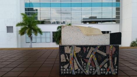 Miami Geo Quiz #29: Art Bench. Source: Matthew Toro. July 2, 2015.
