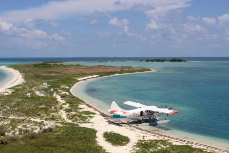 Dry Tortugas National Park is accessible by ferry and seaplane only. Photo Source: Matthew Toro. August 4, 2015.